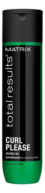 Кондиционер для волос Total Results Curl Please Conditioner Jojoba Oil 300мл chi luxury black seed oil curl defining cream gel