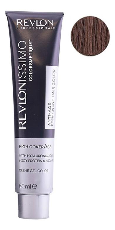 Крем-краска для волос Revlonissimo Colorsmetique High CoverAge 60мл: 6-25 Шоколадный темный блонд