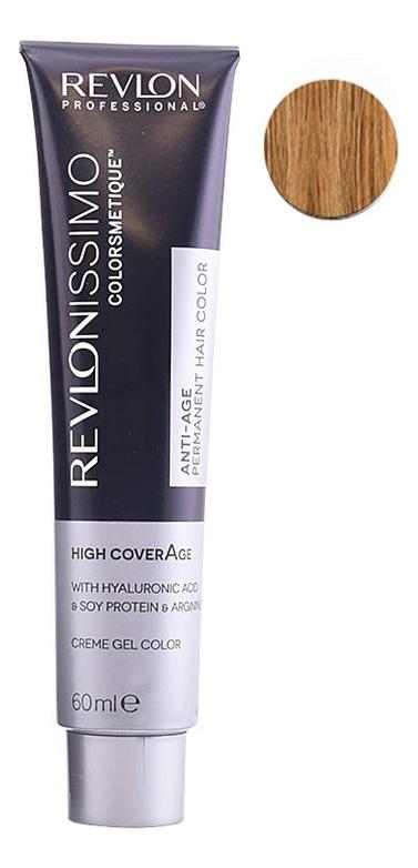 Купить Крем-краска для волос Revlonissimo Colorsmetique High CoverAge 60мл: 8-34 Ореховый светлый блондин, Revlon Professional