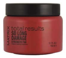 MATRIX Маска для волос Total Results Damage So Long Strength Pak 150мл