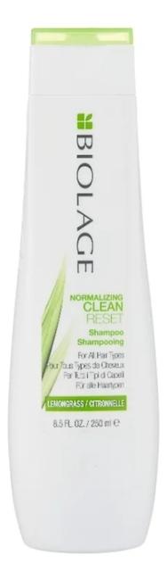 Купить Шампунь для жирной кожи головы Biolage Normalizing Cleanreset Lemongrass Shampoo 250мл, MATRIX