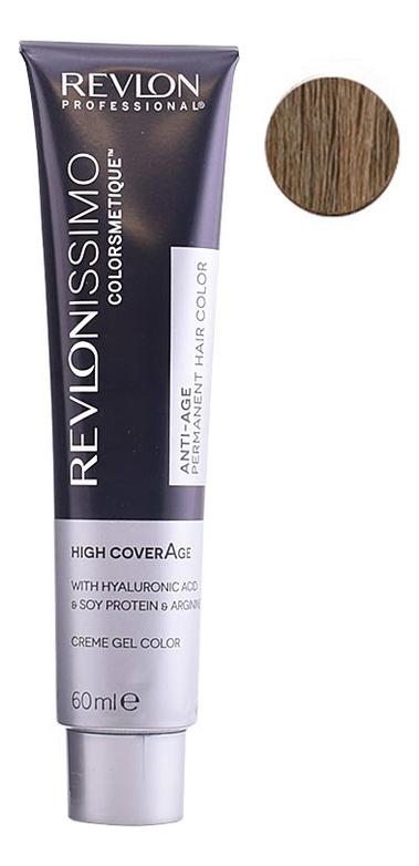 Купить Крем-краска для волос Revlonissimo Colorsmetique High CoverAge 60мл: 7-41 Натуральный ореховый блонд, Revlon Professional