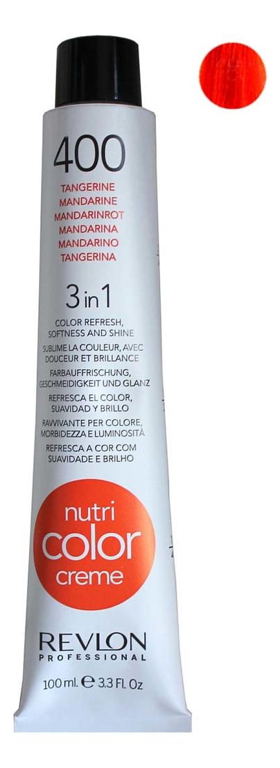 Краска для волос Nutri Color Creme 400 Tangerine: Краска 100мл недорого