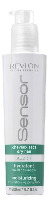 Увлажняющий шампунь-кондиционер для сухих волос Sensor Shampoo Moisturizing: Шампунь-кондиционер 200мл