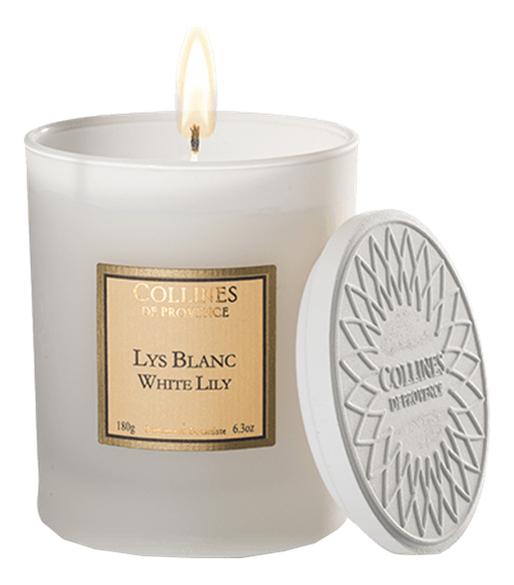 Ароматическая свеча White Lily 180г