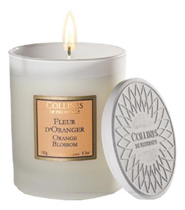 Купить Ароматическая свеча Orange Blossom (Флердоранж): Свеча 180г, Collines de Provence