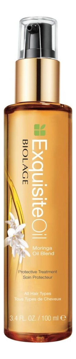Купить Питательное масло для волос Biolage Exquisite Oil Moringa Oil Blend 100мл, MATRIX
