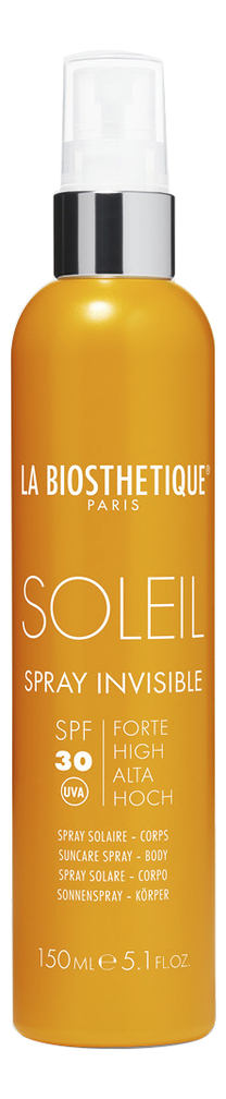 Водостойкий солнцезащитный спрей для тела Soleil Spray Invisible SPF30 150мл