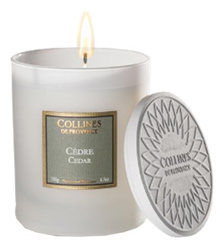 Фото - Ароматическая свеча Cedar 180г ароматическая свеча кедр cedar свеча 380г