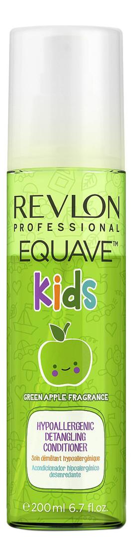 Фото - Двухфазный кондиционер для волос Equave Kids 200мл (яблоко) revlon professional equave anti breakage несмываемый спрей кондиционер для мгновенного распутывания волос 200мл