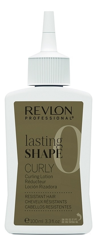 Лосьон для завивки жестких волос No 0 Lasting Shape Curly Lotion Resistant Hair 3*100мл