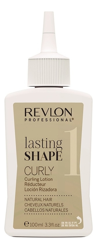 Лосьон для завивки натуральных волос No 1 Lasting Shape Curly Lotion Natural Hair 3*100мл