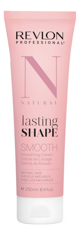 Крем для выпрямления волос Natural Lasting Shape Smooth 250мл