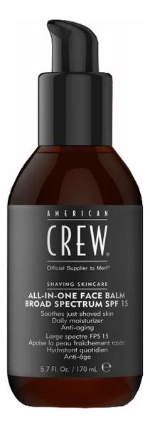 Купить Бальзам для лица после бритья All-In-One Face Balm Broad Spectrum SPF15 170мл, American Crew