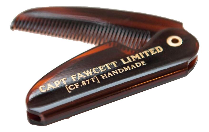 Складная расческа для усов Folding Pocket Moustache Comb