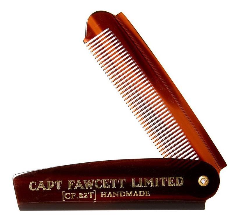 Складная расческа для бороды Folding Pocket Beard Comb