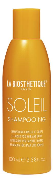 Шампунь для волос c защитой от солнца Soleil Shampooing: Шампунь 100мл шампунь для волос с молочком овса lait d avoine shampooing шампунь 100мл