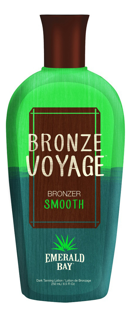 Крем для загара в солярии Bronze Voyage Bronzer Smooth: Крем 250мл недорого