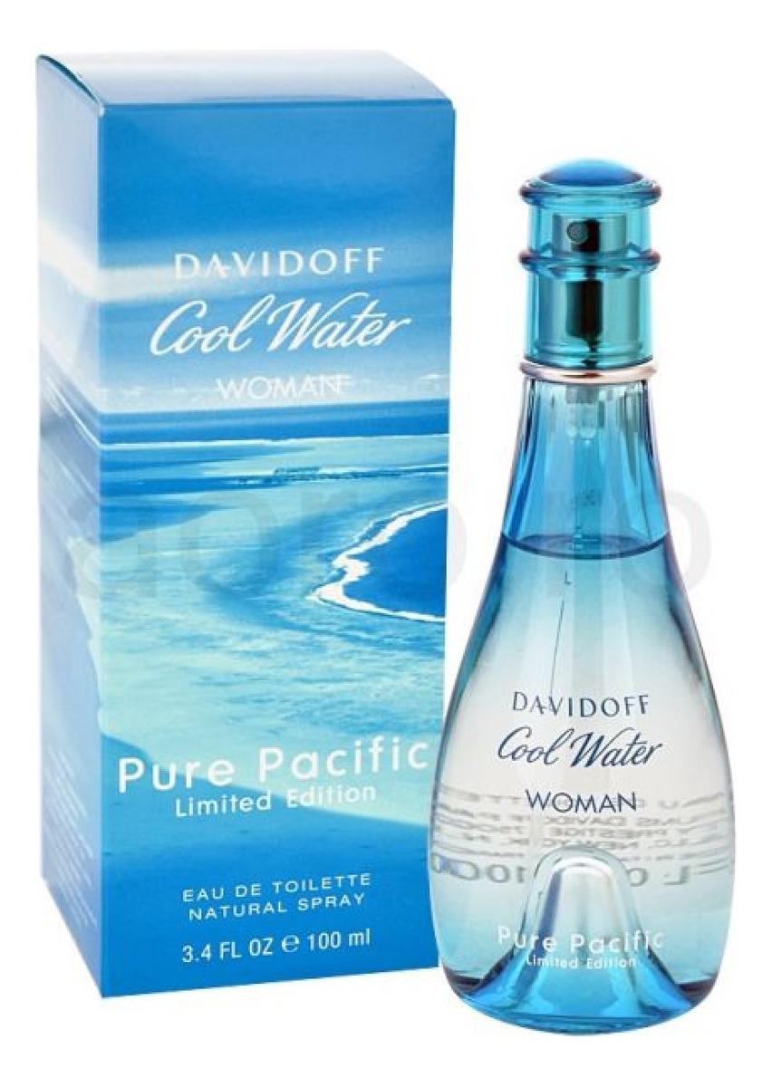 Cool Water Pure Pacific Woman: туалетная вода 100мл недорого