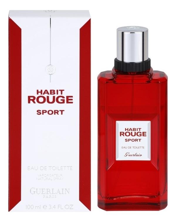 Habit Rouge Sport: туалетная вода 100мл недорого