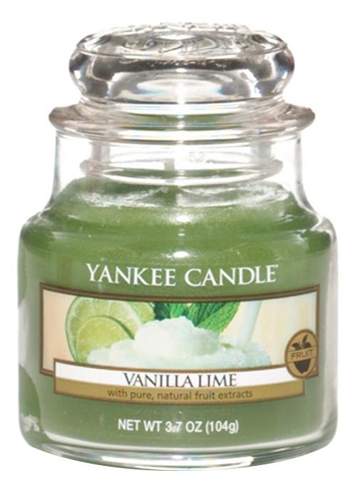 Ароматическая свеча Vanilla Lime: Свеча 104г ароматическая свеча vibrant saffron свеча 104г