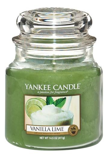 Ароматическая свеча Vanilla Lime: Свеча 411г свеча от комаров argus