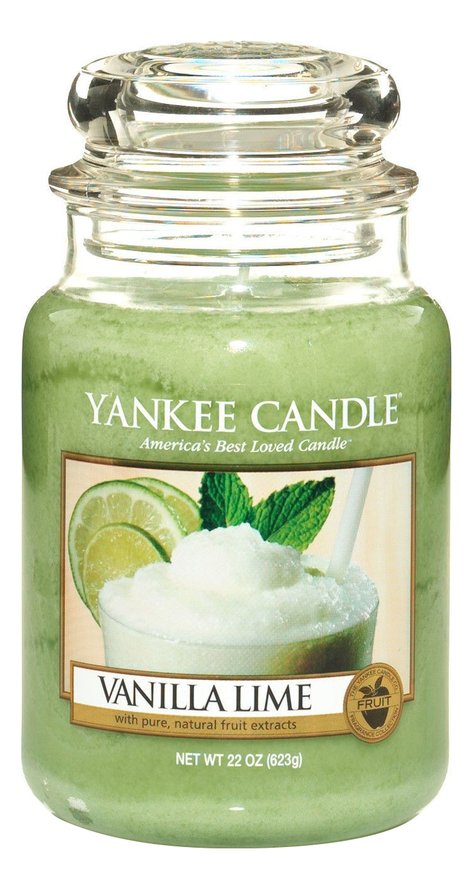 Фото - Ароматическая свеча Vanilla Lime: Свеча 623г ароматическая свеча vanilla bean свеча 85г