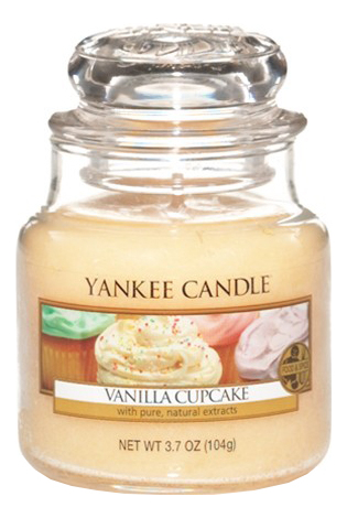 Фото - Ароматическая свеча Vanilla Cupcake: Свеча 104г ароматическая свеча vanilla bean свеча 85г