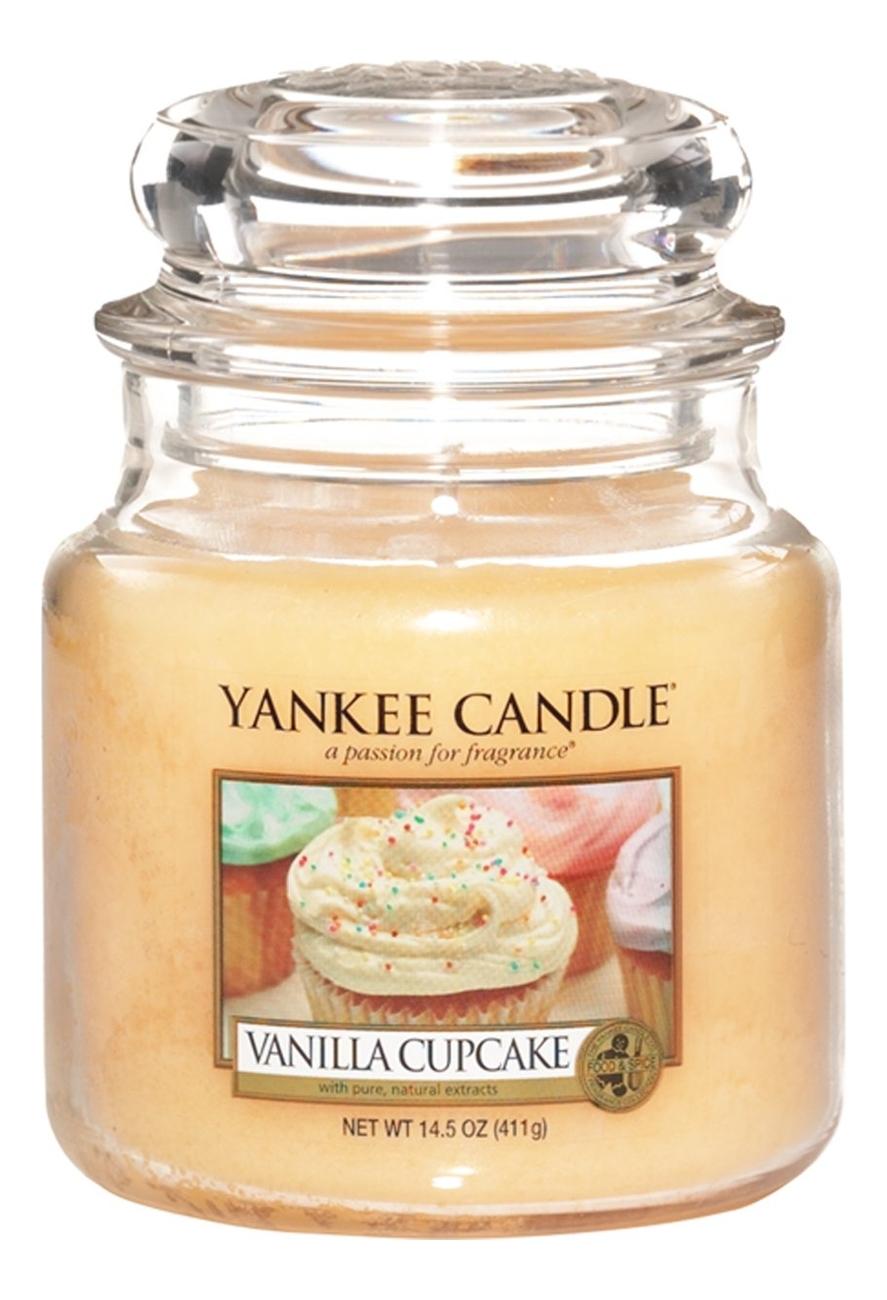 Ароматическая свеча Vanilla Cupcake: Свеча 411г