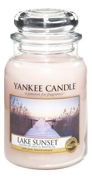 Ароматическая свеча Lake Sunset: Свеча 623г