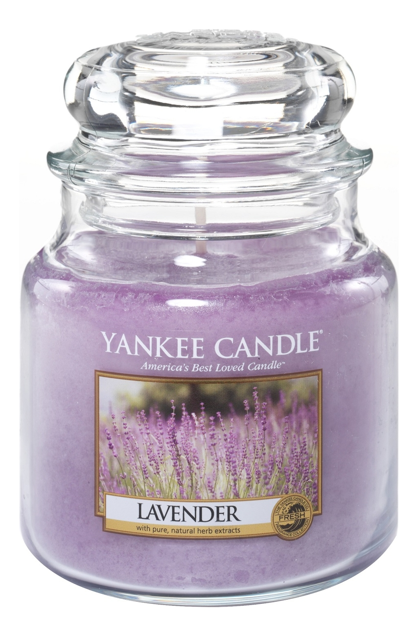 Ароматическая свеча Lavender: Свеча 411г
