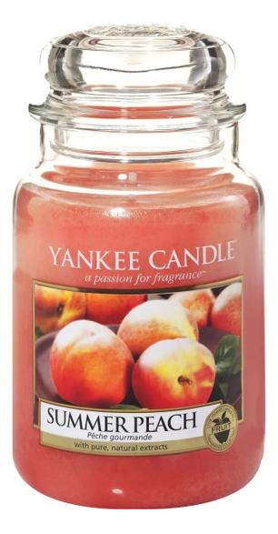Фото - Ароматическая свеча Summer Peach: Свеча 623г ароматическая свеча snowflake cookie свеча 623г