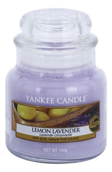 Купить Ароматическая свеча Lemon Lavender: Свеча 104г, Yankee Candle