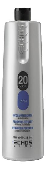 Окислитель для краски Hydrogen Peroxide 1000мл: 6%