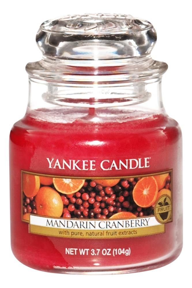 Ароматическая свеча Mandarin Cranberry: Свеча 104г фото
