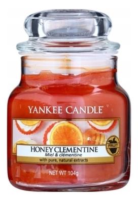 Ароматическая свеча Honey Clementine: Свеча 104г ароматическая свеча vibrant saffron свеча 104г