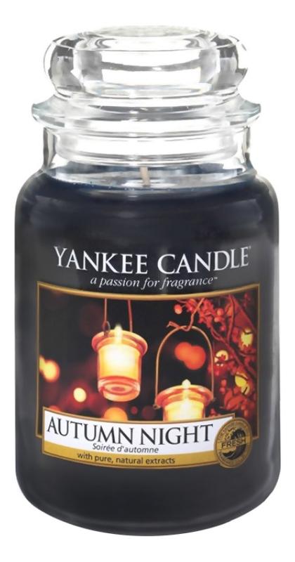 Ароматическая свеча Autumn Night: Свеча 623г свеча от комаров argus