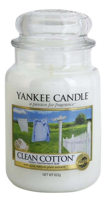 Фото - Ароматическая свеча Clean Cotton: Свеча 623г ароматическая свеча snowflake cookie свеча 623г
