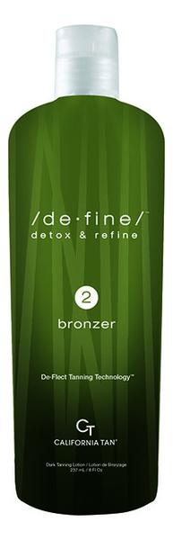 Крем для загара в солярии De-Fine 2 Bronzer: Крем 237мл недорого