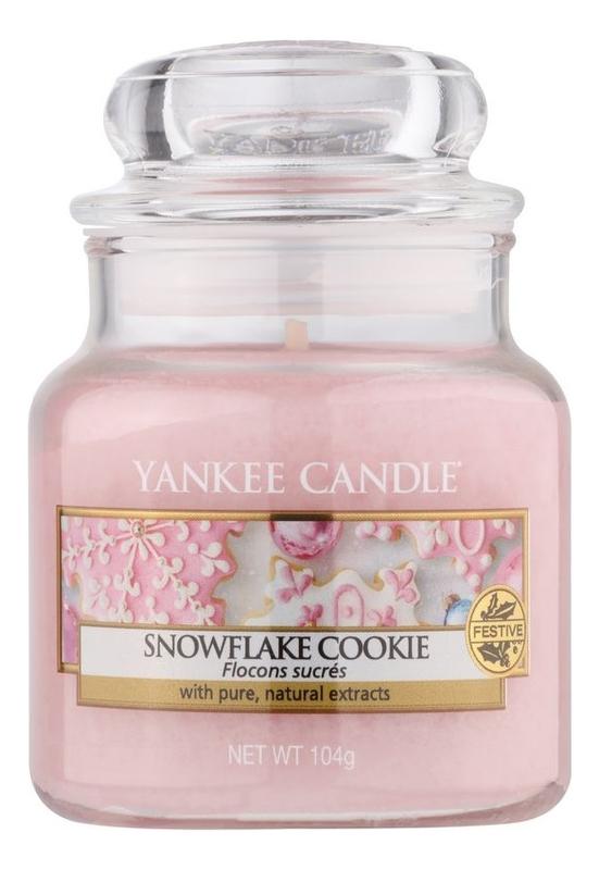 Фото - Ароматическая свеча Snowflake Cookie: Свеча 104г ароматическая свеча snowflake cookie свеча 623г