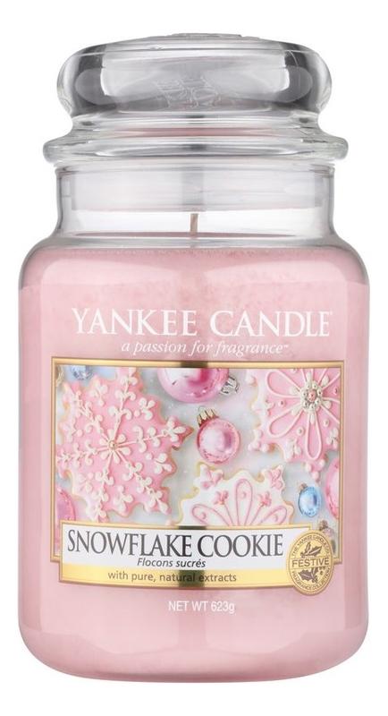 Фото - Ароматическая свеча Snowflake Cookie: Свеча 623г ароматическая свеча snowflake cookie свеча 623г