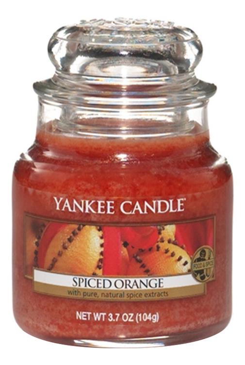 Ароматическая свеча Spiced Orange: Свеча 104г свеча от комаров argus