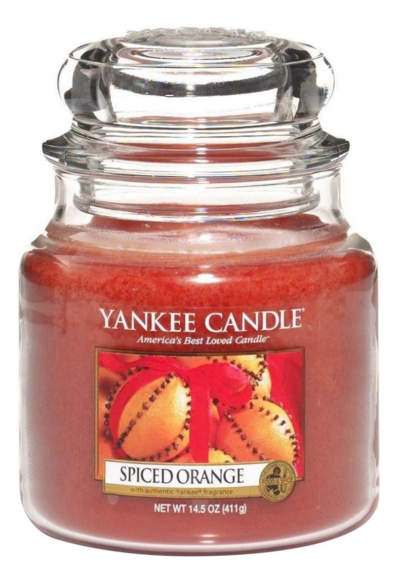 Ароматическая свеча Spiced Orange: Свеча 411г ароматическая свеча vibrant saffron свеча 411г
