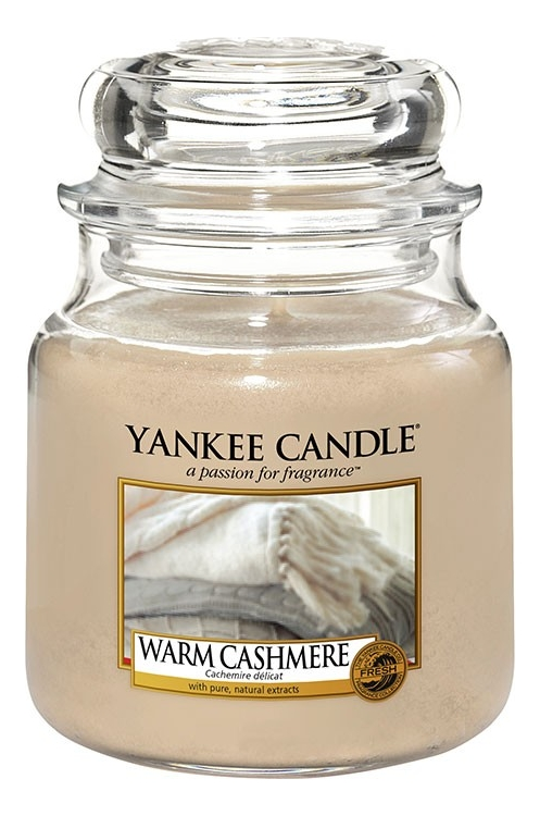 Ароматическая свеча Warm Cashmere: Свеча 411г