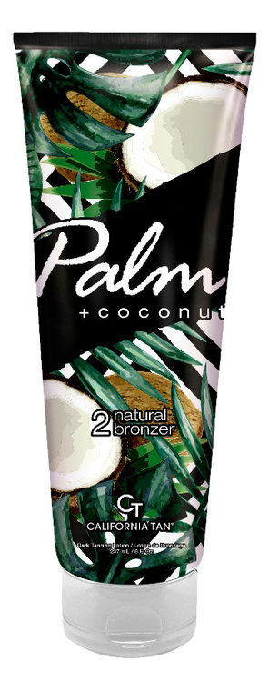 Крем для загара в солярии Palm + Coconut 2 Natural Bronzer: 237мл