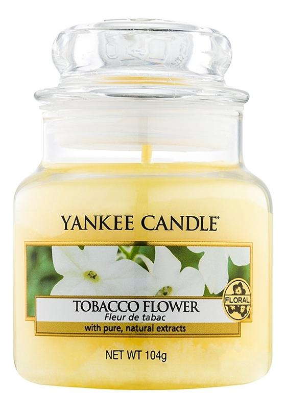 Купить Ароматическая свеча Tobacco Flower: Свеча 104г, Yankee Candle