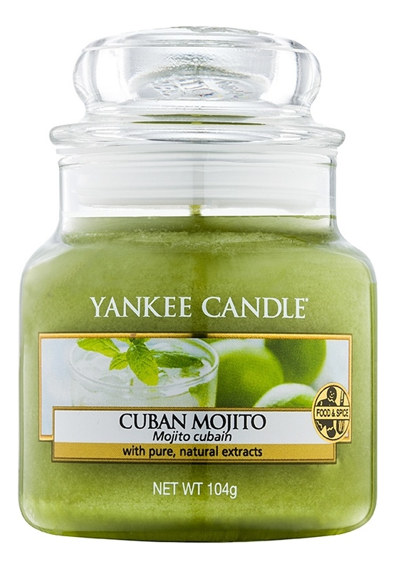 Ароматическая свеча Cuban Mojito: Свеча 104г ароматическая свеча vibrant saffron свеча 104г