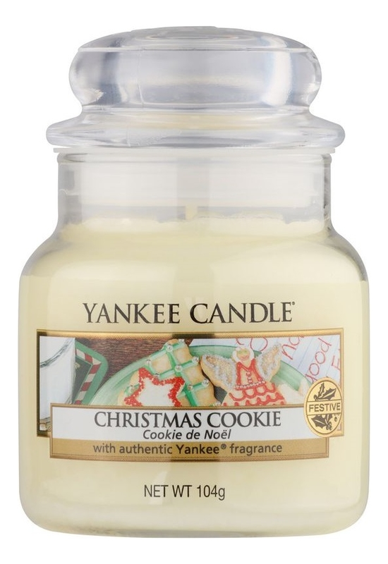 Ароматическая свеча Christmas Cookie: Свеча 104г фото