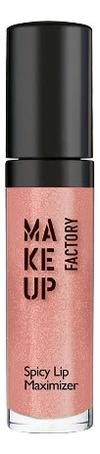 Купить Блеск для увеличения объема губ Spicy Lip Maximizer 8мл: 05 Огненный, MAKE UP FACTORY
