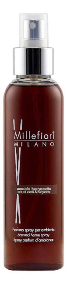 Фото - Духи-спрей для дома Сандал и бергамот Natural Sandalo Bergamotto 150мл духи спрей для дома белый мускус natural muschio bianco 150мл